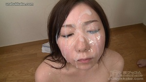 Several men surround this slut and shoot - XXX Dessert - Picture 9