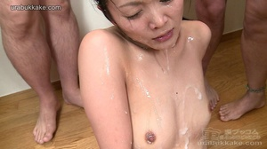 Saucy hoe gets sticky all over from a de - XXX Dessert - Picture 6
