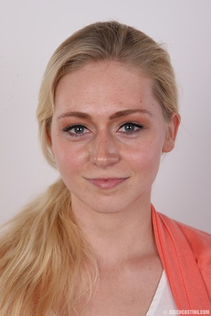 Ponytailed blonde cutie hopes to become  - XXX Dessert - Picture 1