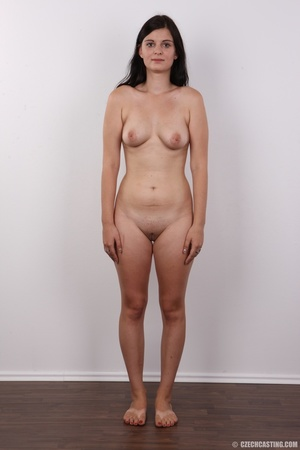 Long-haired brunette beauty with a shave - XXX Dessert - Picture 14