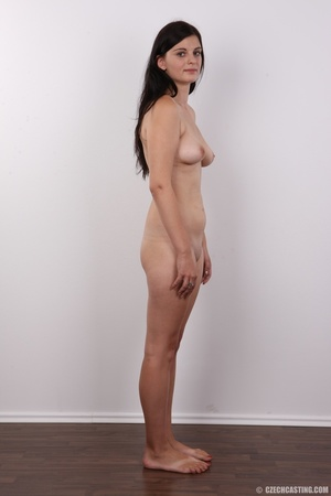 Long-haired brunette beauty with a shave - XXX Dessert - Picture 15
