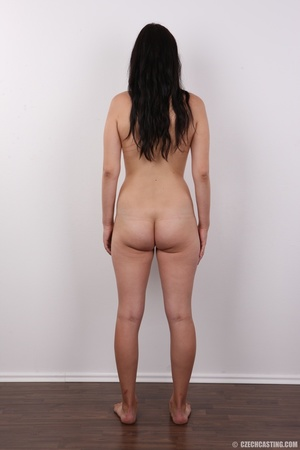 Long-haired brunette beauty with a shave - XXX Dessert - Picture 16
