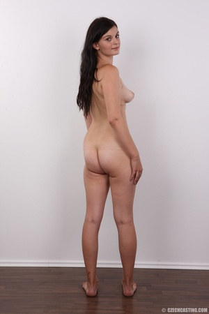 Long-haired brunette beauty with a shave - XXX Dessert - Picture 17