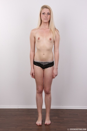 Small-titted blondie stands her chance a - XXX Dessert - Picture 9