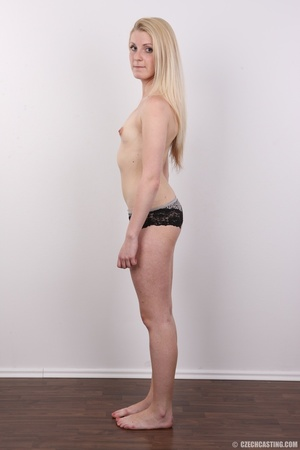 Small-titted blondie stands her chance a - XXX Dessert - Picture 10