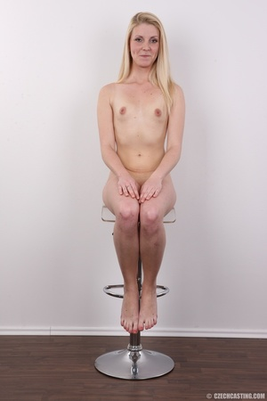 Small-titted blondie stands her chance a - XXX Dessert - Picture 18