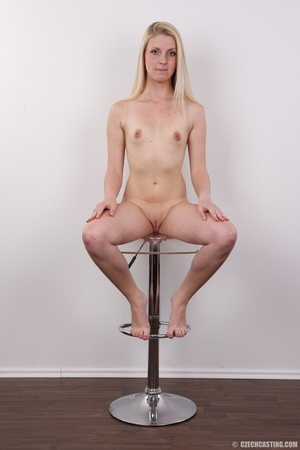 Small-titted blondie stands her chance a - XXX Dessert - Picture 19