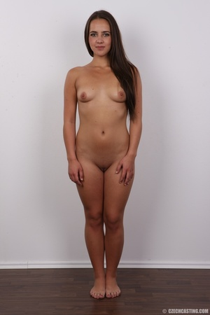 Tanned brunette chick with long hair loo - XXX Dessert - Picture 14