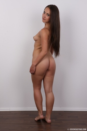 Tanned brunette chick with long hair loo - XXX Dessert - Picture 18
