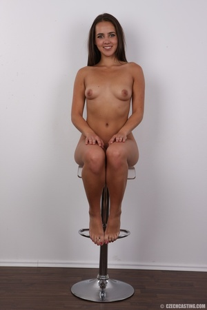 Tanned brunette chick with long hair loo - XXX Dessert - Picture 19