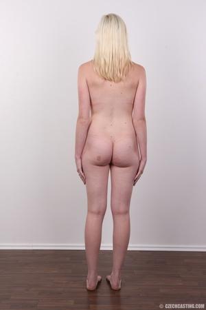 Tall blonde cutie with a tattoo demonstr - XXX Dessert - Picture 16