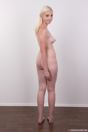 Tall blonde cutie with a tattoo demonstr - XXX Dessert - Picture 17