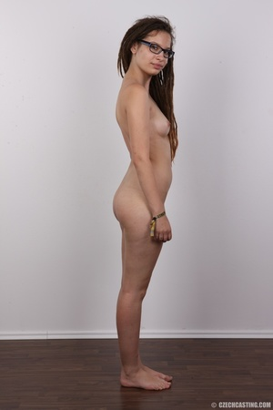 Small-titted brunette girl with dreads p - XXX Dessert - Picture 15