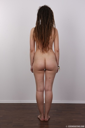 Small-titted brunette girl with dreads p - XXX Dessert - Picture 17