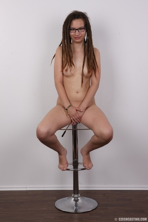 Small-titted brunette girl with dreads p - XXX Dessert - Picture 20