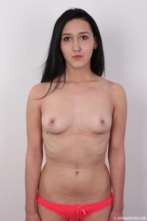 Lovely brunette nude chick having her sh - XXX Dessert - Picture 11