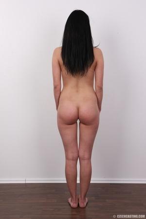 Lovely brunette nude chick having her sh - XXX Dessert - Picture 16
