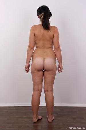 Plump ponytailed brunette chick presenti - XXX Dessert - Picture 16