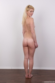 small-titted blonde chick wants