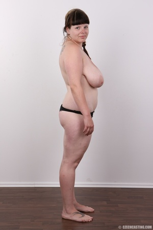 Plump brunette babe with a plait has rea - XXX Dessert - Picture 8