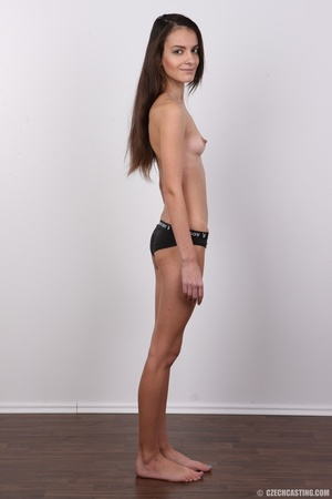 Slim brunette stunner with small tits at - XXX Dessert - Picture 10