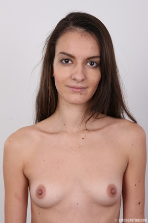 Slim brunette stunner with small tits at - XXX Dessert - Picture 11