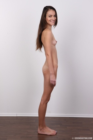 Slim brunette stunner with small tits at - XXX Dessert - Picture 15