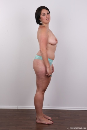 Plump brunette coed with massive natural - XXX Dessert - Picture 9