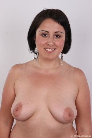 Plump brunette coed with massive natural - XXX Dessert - Picture 10