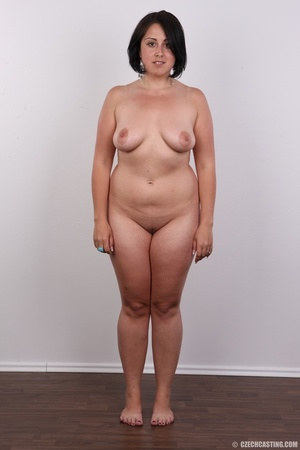 Plump brunette coed with massive natural - XXX Dessert - Picture 13