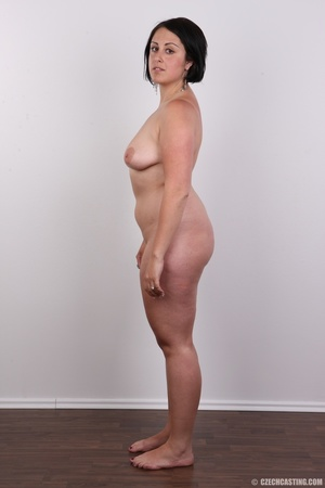 Plump brunette coed with massive natural - XXX Dessert - Picture 14