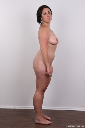 Plump brunette coed with massive natural - XXX Dessert - Picture 15