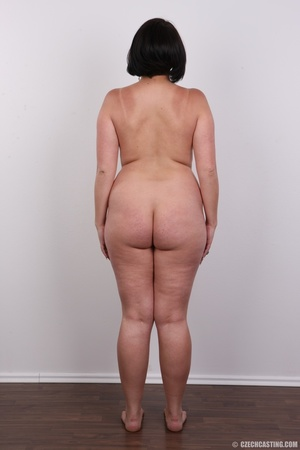 Plump brunette coed with massive natural - XXX Dessert - Picture 16