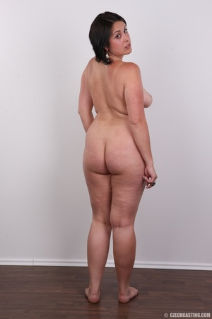 Plump brunette coed with massive natural - XXX Dessert - Picture 18