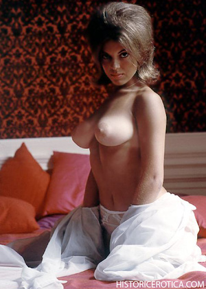 Vintage chick posing topless for your pl - XXX Dessert - Picture 2