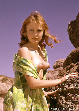 Vintage chick posing topless for your pl - XXX Dessert - Picture 3
