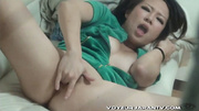 busty japanese chick green