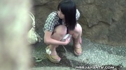 young asian babes pissing