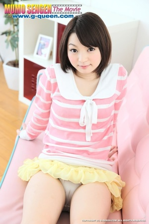 Pretty miss in a yellow skirt and white  - XXX Dessert - Picture 7