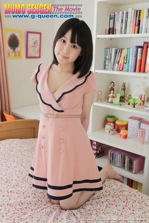 Fine floozy in pink polka dot lingerie s - XXX Dessert - Picture 2