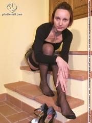 hot seductress cute black