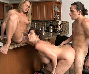 These dudes are lucky to handle their GF - XXX Dessert - Picture 4