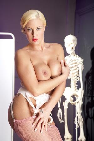 Boobilicious tattooed blondie gets her t - XXX Dessert - Picture 4