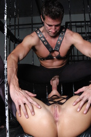 caged and collared slaves