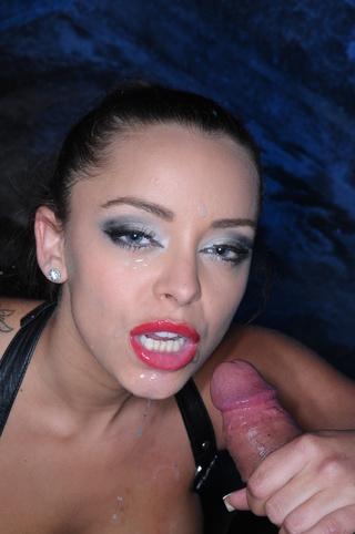 kinky ponytailed mistress big