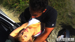 Fair-haired teen hitchhiker gets enchain - XXX Dessert - Picture 4
