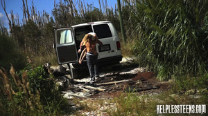 Fair-haired teen hitchhiker gets enchain - XXX Dessert - Picture 15