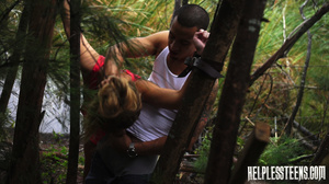 Poor brunette teen hitchhiker gets mouth - XXX Dessert - Picture 12