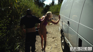 Inked blonde teeny with plaits gets poun - XXX Dessert - Picture 8