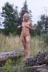 wild blonde vixen takes